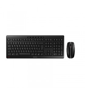 CHERRY Stream Desktop tastaturi RF fără fir QWERTY Engleză SUA Negru