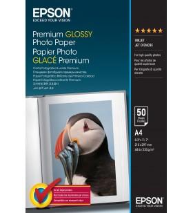 Epson Premium Glossy Photo Paper - A4 - 50 de coli