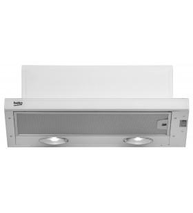 Beko CTB6250W hote de bucătărie Semiîncastrat (scoatere) Alb 420 m³ h E