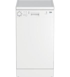 Beko DFS05024W mașini de spălat vase De sine stătător 10 seturi farfurii E