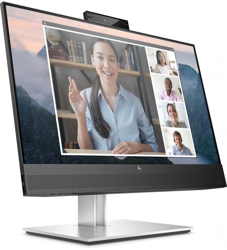 "HP E24mv G4 60,5 cm (23.8"") 1920 x 1080 Pixel Full HD Negru, Argint"