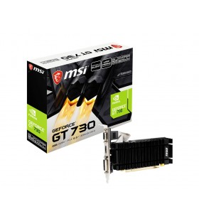 MSI N730K-2GD3H LPV1 NVIDIA GeForce GT 730 2 Giga Bites GDDR3