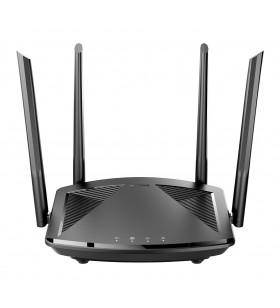 D-Link DIR‑X1550 router wireless Gigabit Ethernet Bandă dublă (2.4 GHz  5 GHz) 5G Negru